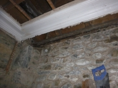 Rotten beam in porch - 25022016