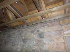 Building up walls in upstairs corridor - 15032016