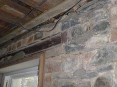 Building up walls in upstairs corridor 3 - 15032016