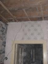 Ceiling down - corridor beyod doorway - 05032016