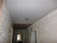 Ceiling in upstairs corridor 1 - 21032016