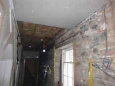 Ceiling in upstairs corridor 2 - 21032016