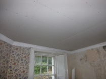 Ceiling up in Meg's study 3 - 10032016
