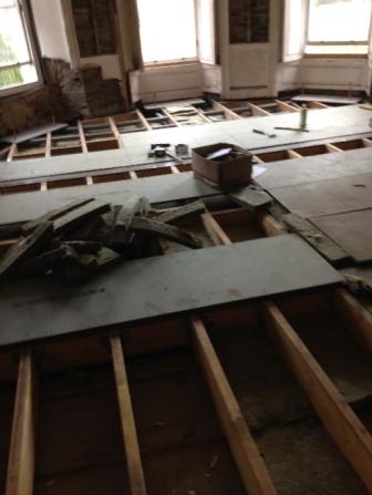 Floor in round room - 16032016 - SH