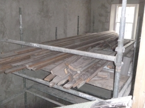 Floor on scaffold - 13032016
