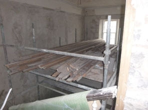 Floor on scaffold 2 - 13032016