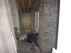 Ground in upstairs corridor - 10032016