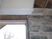 Porch Cornice removal above main door - 10032016