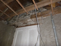 Porch - cutting beams - 26032016