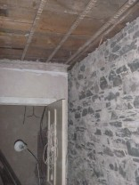 Updtairs corridor - laths removed - 05032016