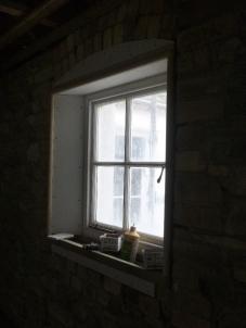 Window in upstairs corridor - 13032016