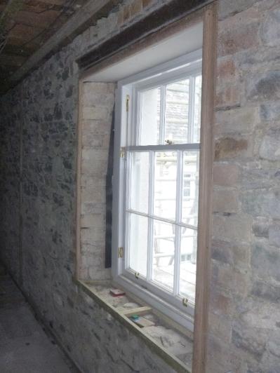 Window in upstairs corridor 2 - 13032016