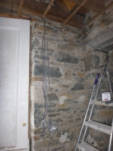Wiring in porch 1 - 21032016