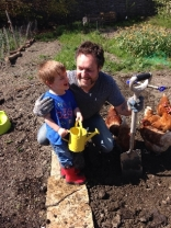 Planting spuds 4 - May 2016 - SH