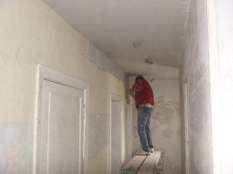 Wall paper stripping - 02052016