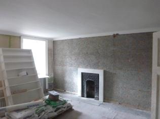 Wood wool wall - 01052016