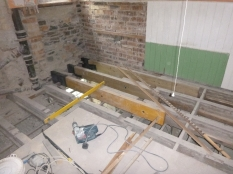 New beams in bathroom - 19062016