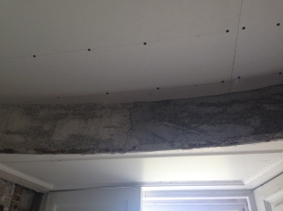 Plastering - round room 2 - TC - 23062016