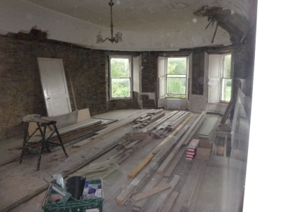 Round room timber flooring - 12062016