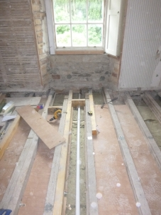 Bathroom beams - 21072016