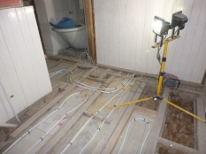 Bathrooms - UFH pipes 2 - 24072016
