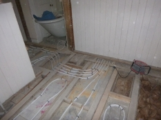 Bathrooms - UFH pipes 6 - 24072016
