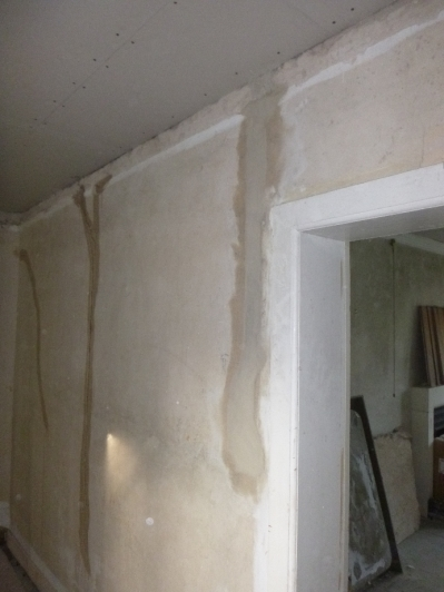 Lime plastering 15 - cables - 14072016
