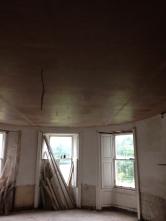 Plastering - Round Room 1 - 28072016