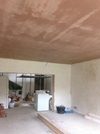 Plastering - Round Room 3 - 28072016