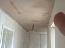 Plastering - upstairs corridor 1 - 28072016