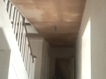 Plastering - upstairs corridor 2 - 28072016