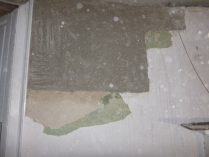 Round room - paper stripping - 08072016