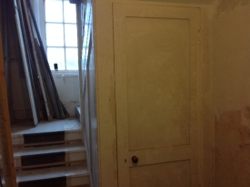 back stairs - cupboard door 2 - 23022017 - SH