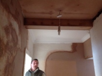 Back stairs plastering - 28022017 - SH
