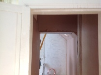Back stairs plastering 3 - 28022017 - SH