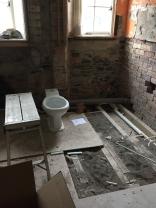 Plumbing - toilet position - 04032017