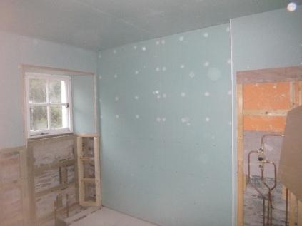 Bathroom - plasterboard 2 - 13042017