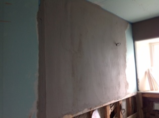 Bathroom - plastering & boarding 2 - 18042017 - SH