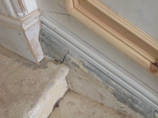 Main hall - stairs - repair - 21042017 - SH