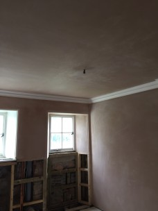 Plastering - bathroom 1 - 27042017