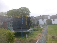 Repaired trampoline - 14052017