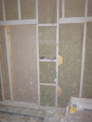 WS room - stud wall - 21052017