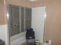 Bathroom - tiling 1 - 05062017