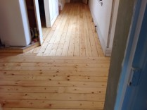 Floor sanding - Upstairs Corridor 3 - 26062017 - SH
