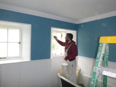 Painting bathroom 2 - 25062017