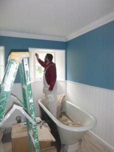 Painting bathroom - 25062017