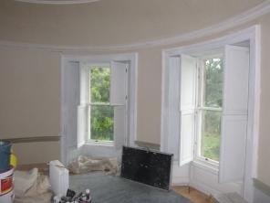 Playroom - painting windows 2 - 30062017