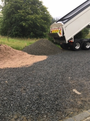 Gravel delivery 4 - 26072017 - SH