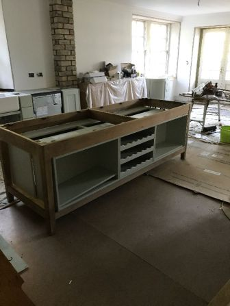 Kitchen island - 08072017