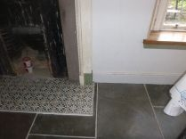 Kitchen - skirting by fireplace 3 - 19092017